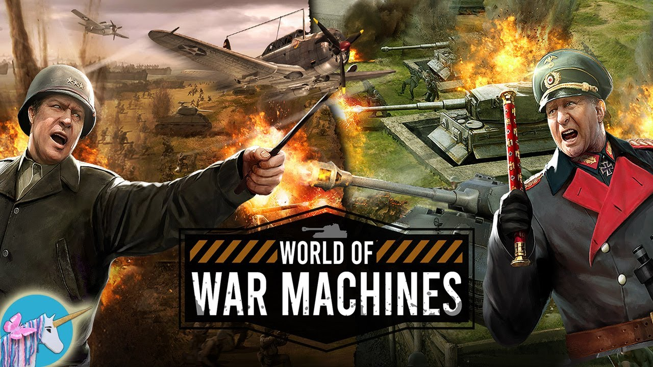 World of War Machines - WW2 Strategy Game